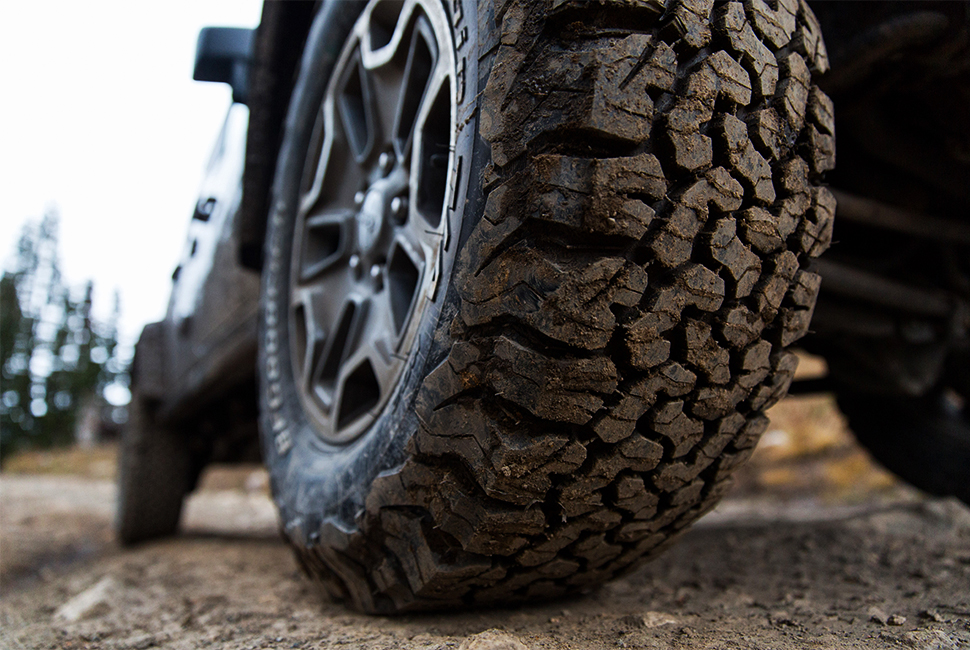 BFG Ko2 all-terrain tire