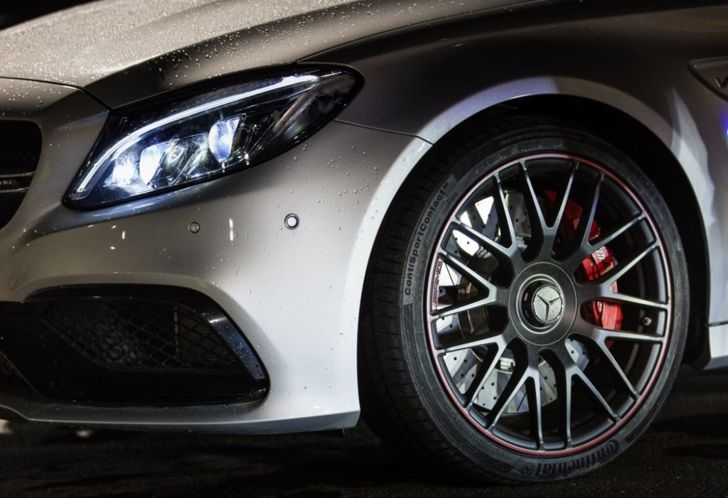 ContiSportContact tires on Mercedes