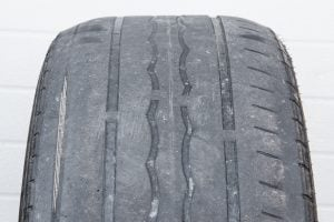 Tire one side wear