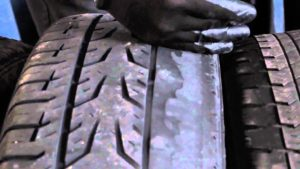 tire care - Unusual tire wear on both sides